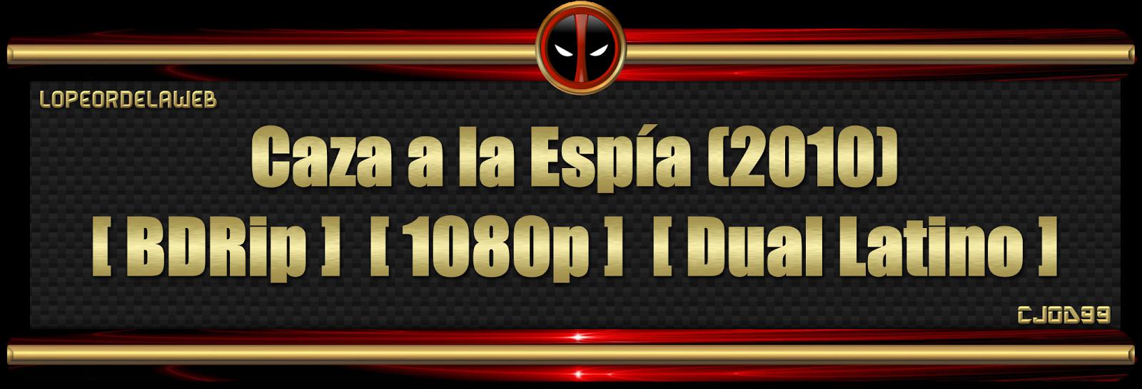 Caza a la Espia (2010)[BDRip][1080p][Dual Latino]