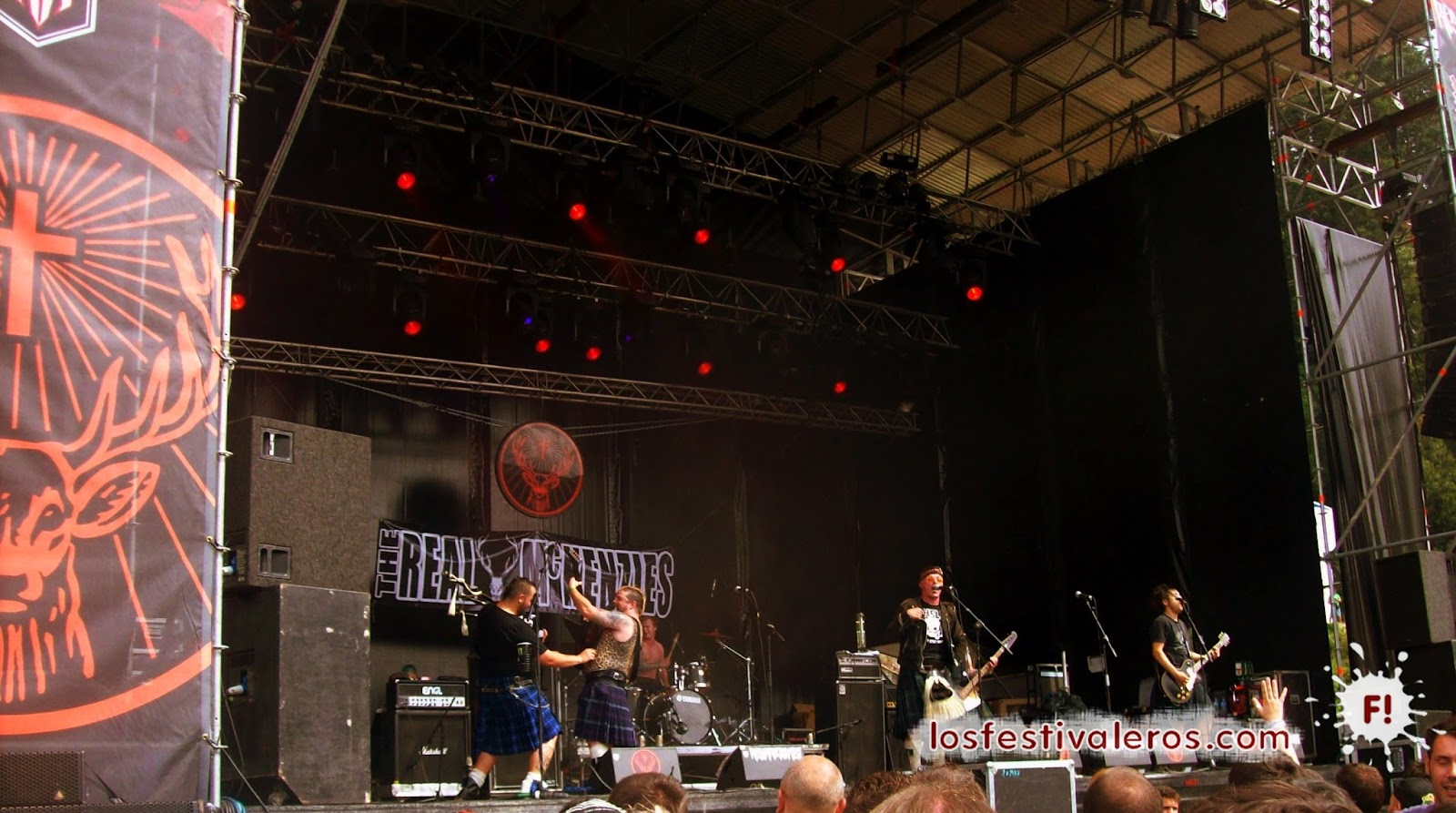 The Real McKenzies, Resurrection Fest, 2014, Festival