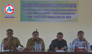Taman Bacaan Masyarakat di RS Kabupaten Bima Mulai Difungsikan