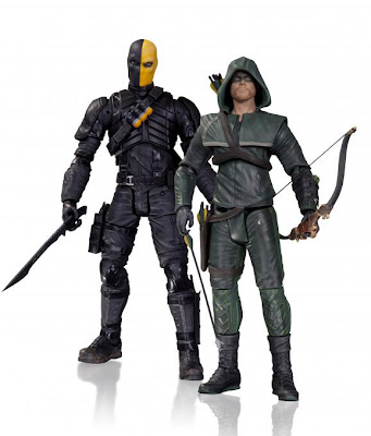 DC Collectibles Arrow TV Series Oliver Queen & Deathstroke Figures
