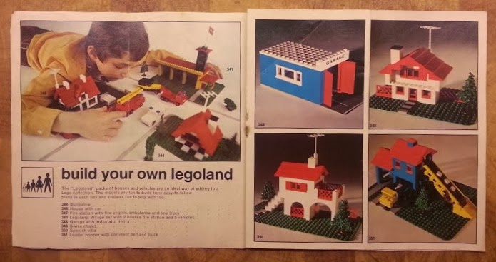 Lego System collectors book 1970's Build Your Own Legoland
