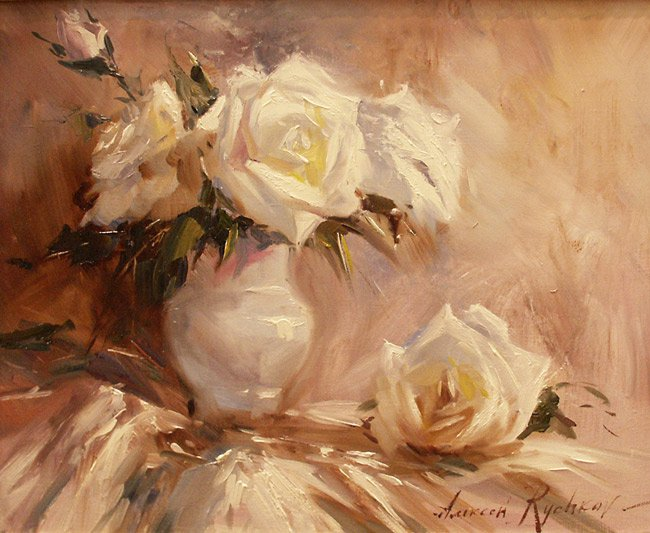 Alexey Rychkov Алексея Рычкова 1968 | Russian Impressionist painter