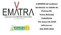 SEMINÁRIO DA EMATRA - PALMAS-TO