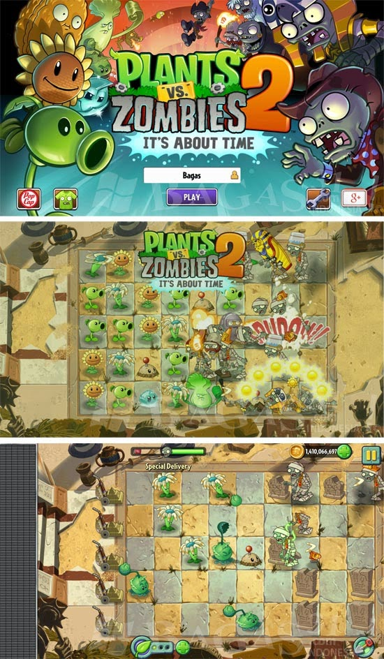 Plants vs Zombie HD (Unlimited Coins) for Android