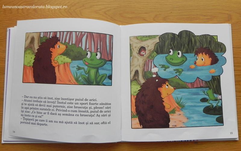 Povestea puiului de arici de Lucia Muntean