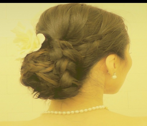 Easy hairstyles for bridesmaids, wedding hairstyles bun/chignon, hair tutorial, fancy hairstyles, formal