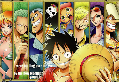 [SCANS] One Piece Calendar 2012