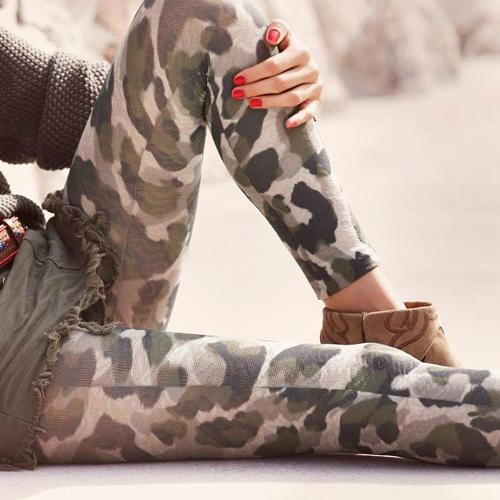 Terepmintás Calzedonia leggings 2013