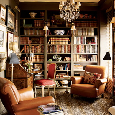 love this cozy reading alcoverich colors and tall bookshelvesfabulous looking - Tall Bookshelves