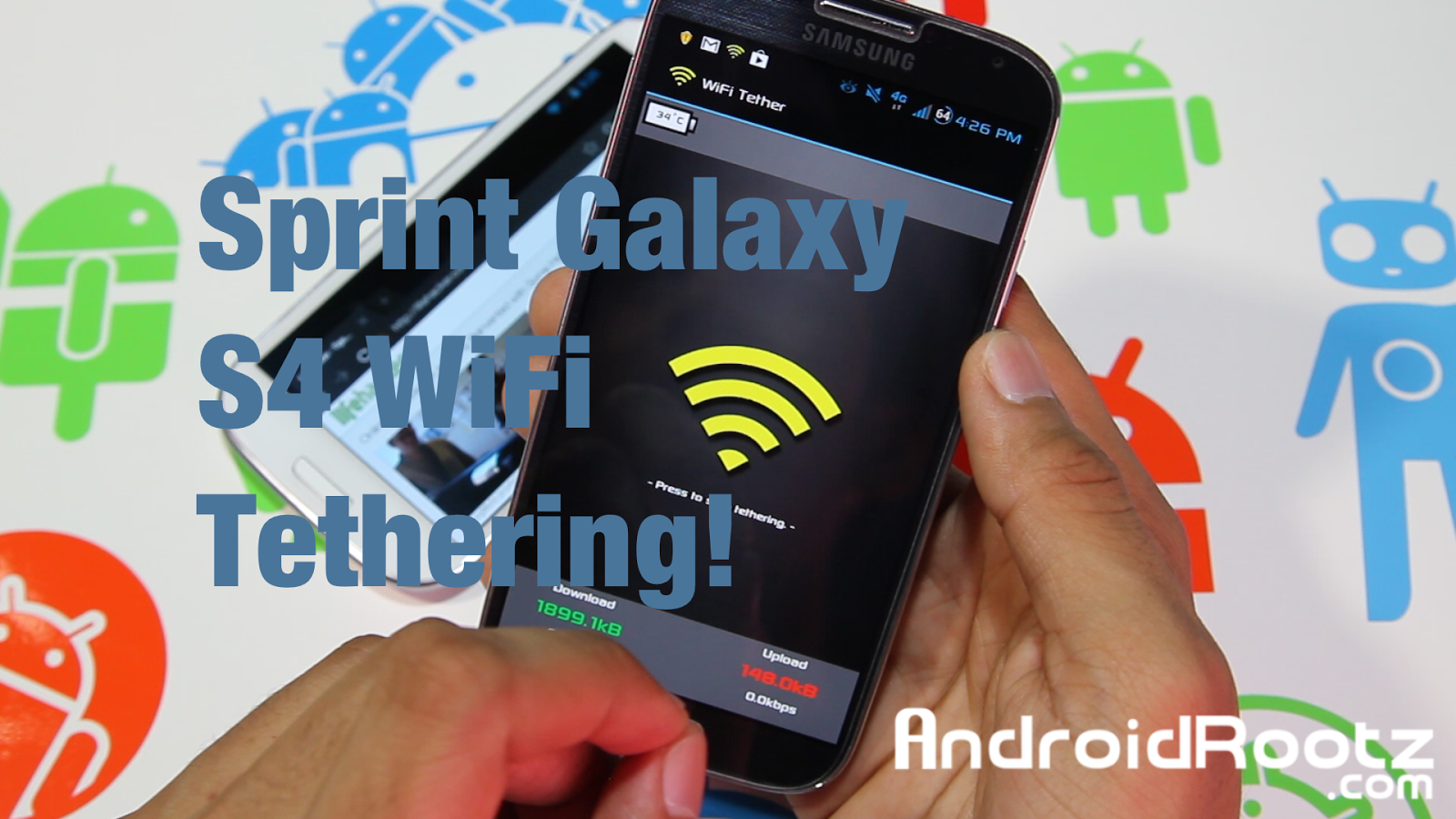 How to Get Free WiFi Tethering/Hotspot on Sprint Galaxy S4 SPH-L720!