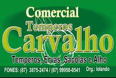 Comercial Temperos Carvalho
