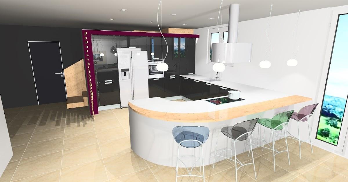 Gara cuisine perspective cuisine design - Cuisine en perspective ...