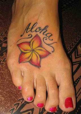 free design foot tattoo
