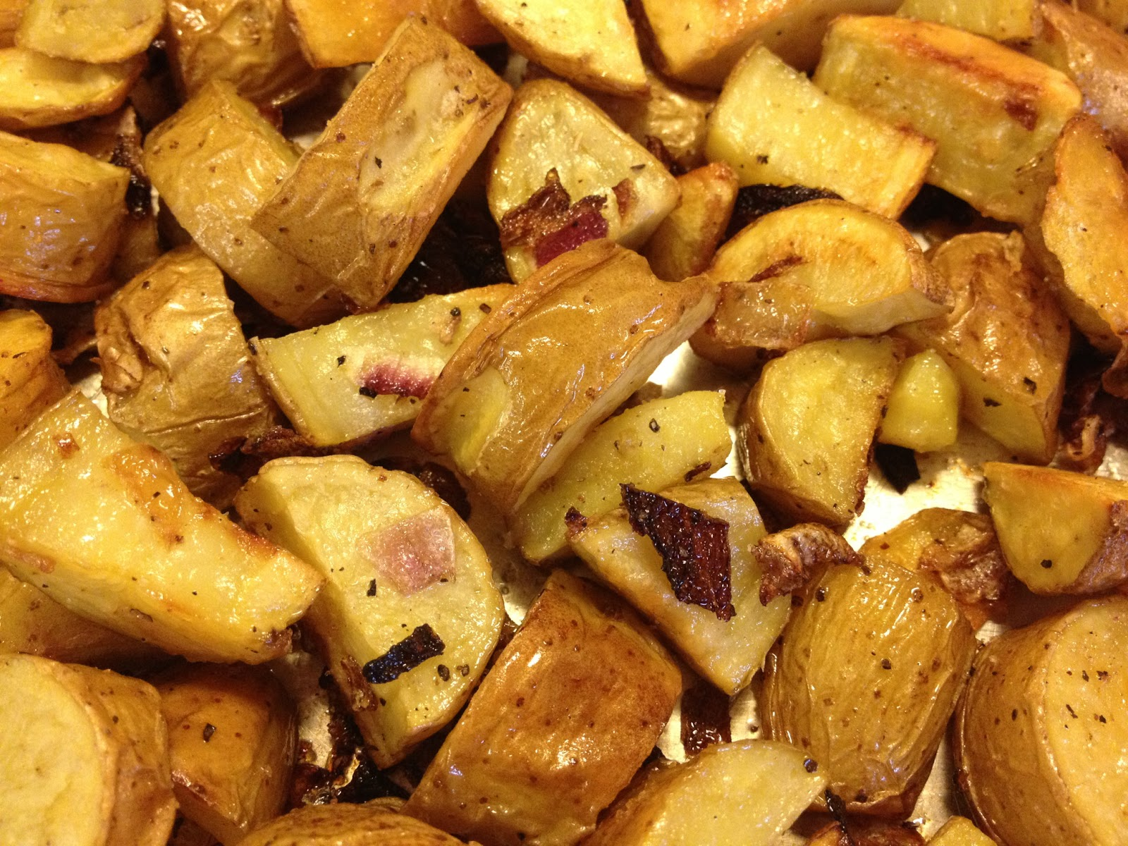 Flavors of the Umpqua: Oven Home Fries with Yukon Fingerlings