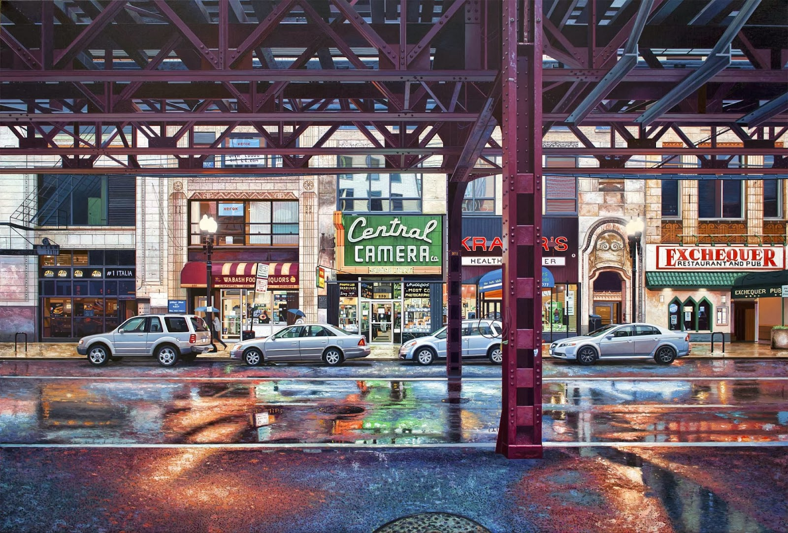 18-Nathan-Walsh-Hyper-Realistic-Cityscapes-Paintings-www-designstack-co