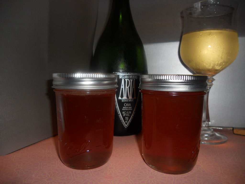 Champagne Jelly Recipe — Dishmaps