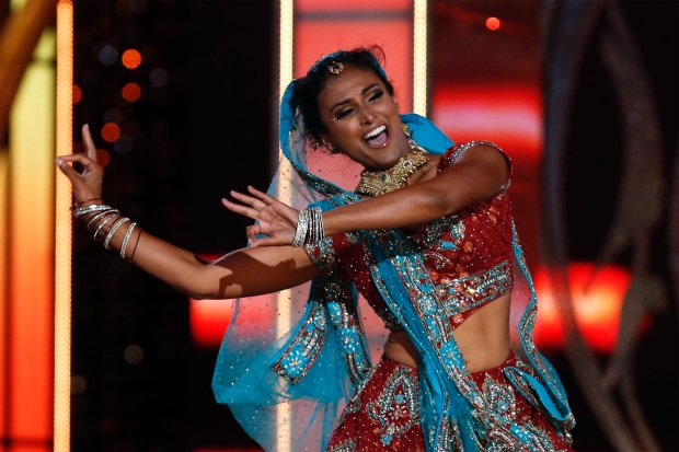 Nina Davuluri The First Indian-American To Win the 2014 Miss America Pageant Competition