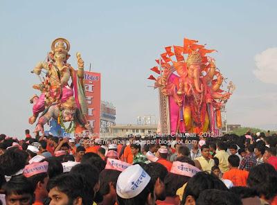 Ganpati Visharajan-2012