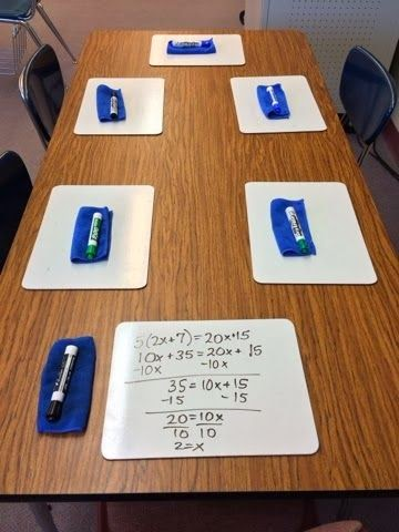 http://7thgrademathteacherextraordinaire.blogspot.ca/2014/02/small-group-lessons-on-two-step.html