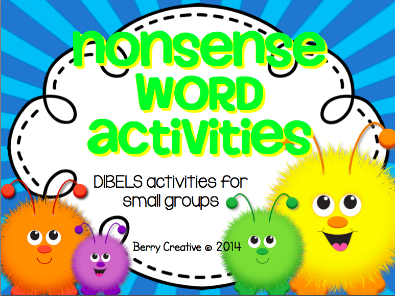 http://www.teacherspayteachers.com/Product/Nonsense-Word-ActivitiesDIBELS-Interventions-167235