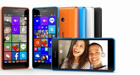 Lumia 540 mobile phone