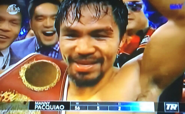 Pacquiao Wins over Bradley on the Rematch