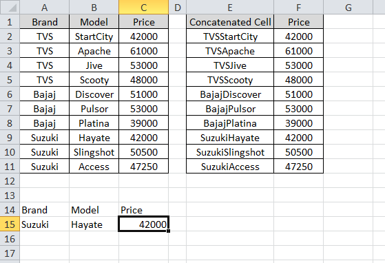 how to return multiple columns from a vlookup