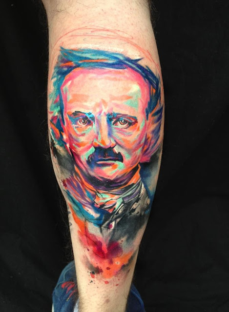 Tatuajes de acuarelas, http://distopiamod.blogspot.com.es