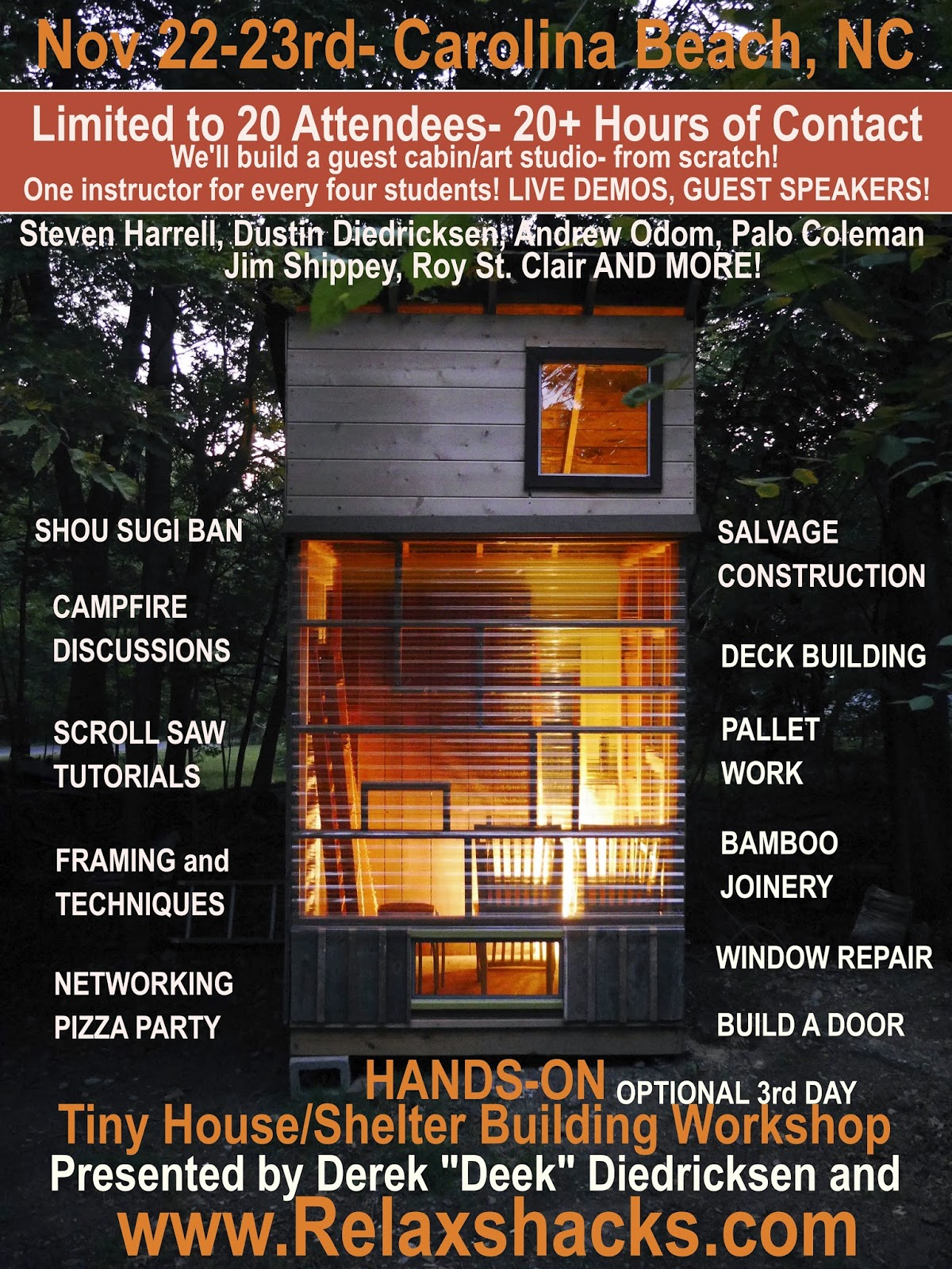 Relaxshackscom JUST ANNOUNCED TINY HOUSE BUILDING AND DESIGN