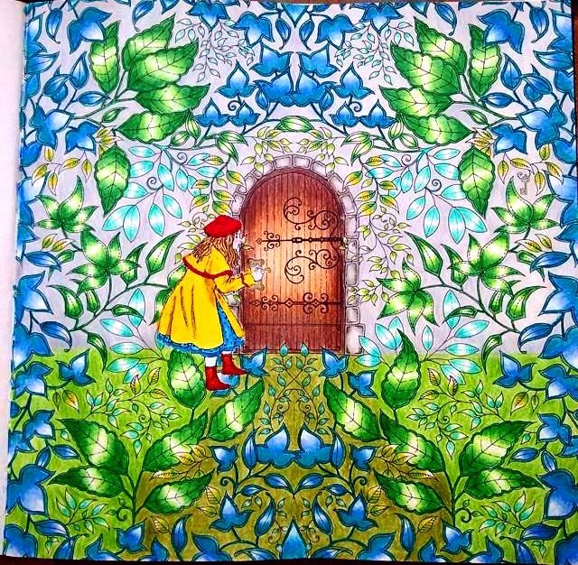 decoracao jardim secreto : decoracao jardim secreto: colorir antiestresse para adultos: Jardim Secreto e Floresta Encantada