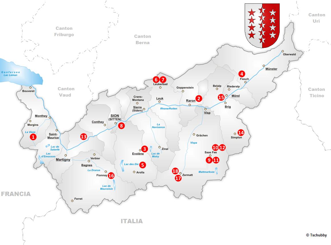 Ferratas cantón Valais