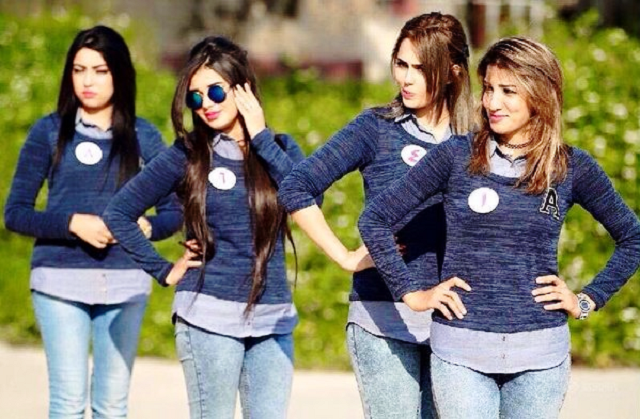 شيماء قاسم  ملكة جمال العراق 20 سنة من كركوك