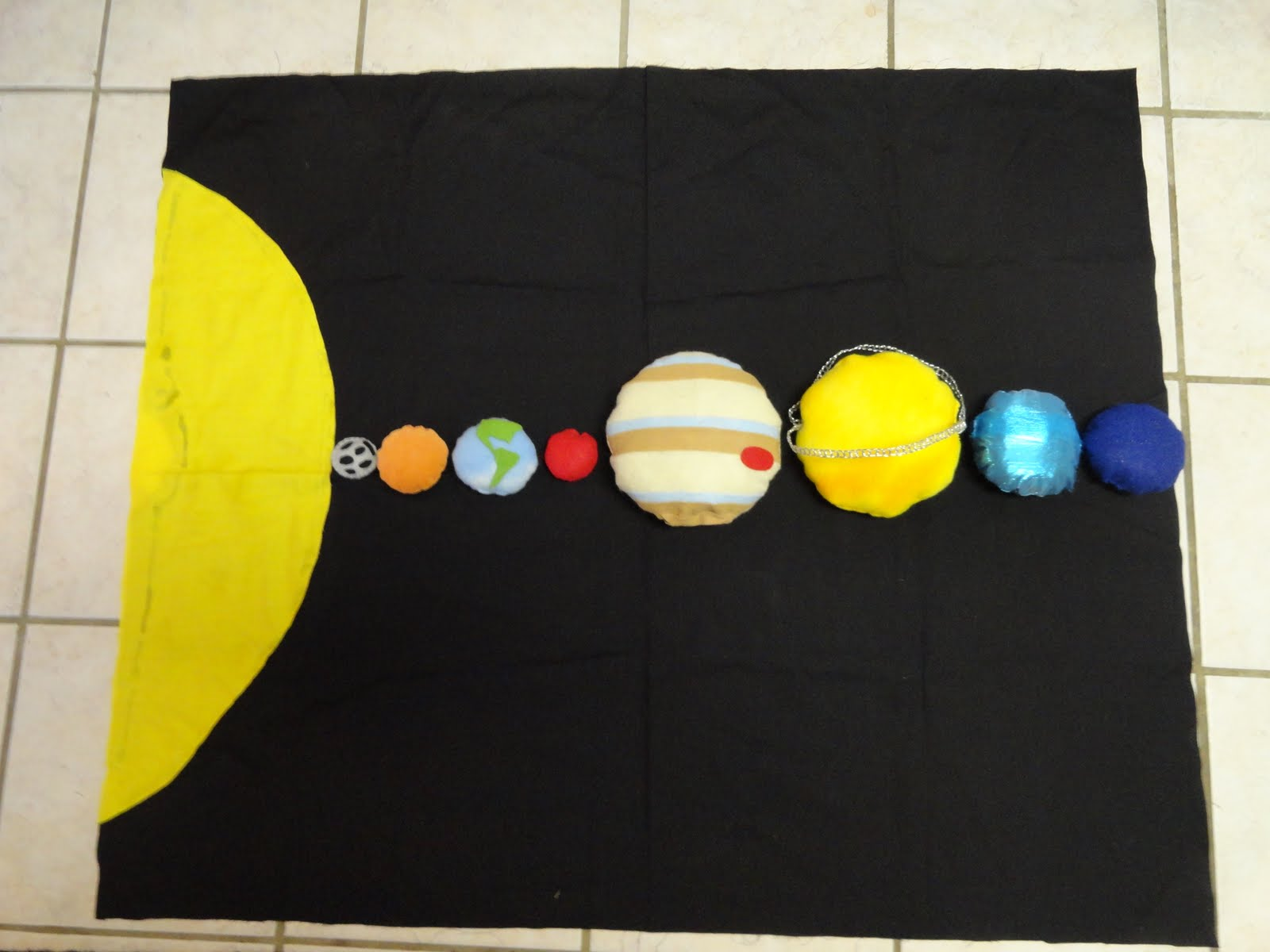 Izzie Mac And Me Montessori Solar System