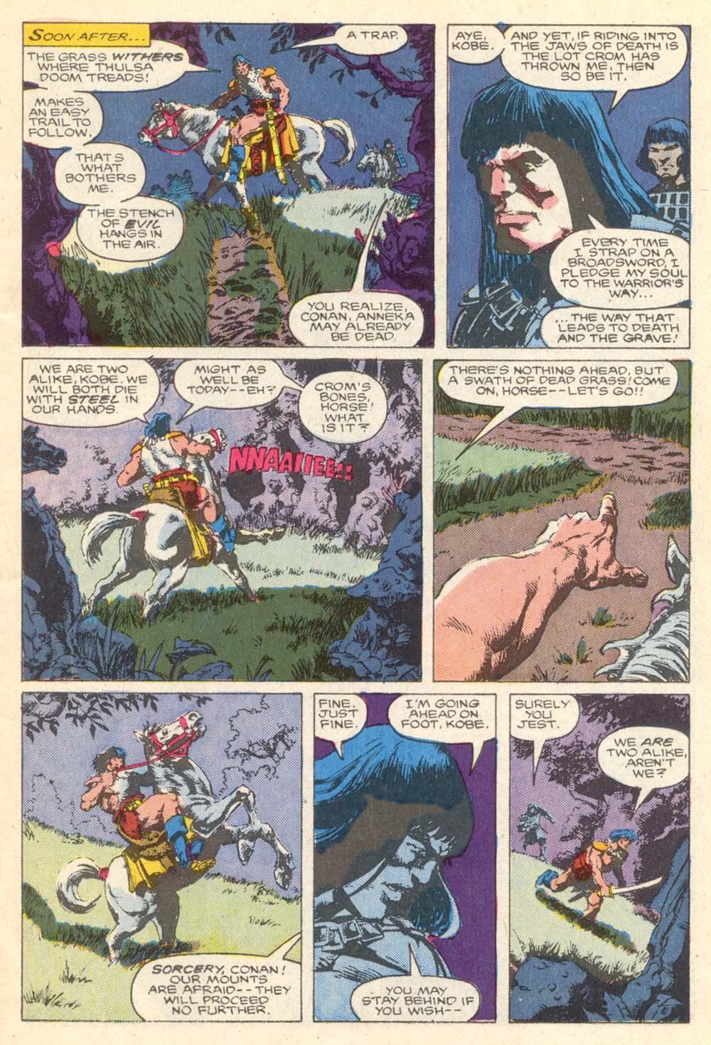 Conan the Barbarian (1970) Issue #203 #215 - English 12