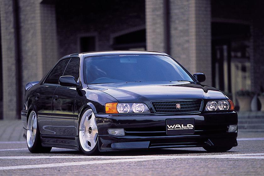 Toyota Chaser X100, 1JZ, JZX100, driftowóz, tuning, RWD, zdjęcia, 日本車, チューニングカー, ドリフト走行, トヨタ チェイサー