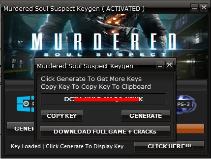 murdered soul suspect keygen
