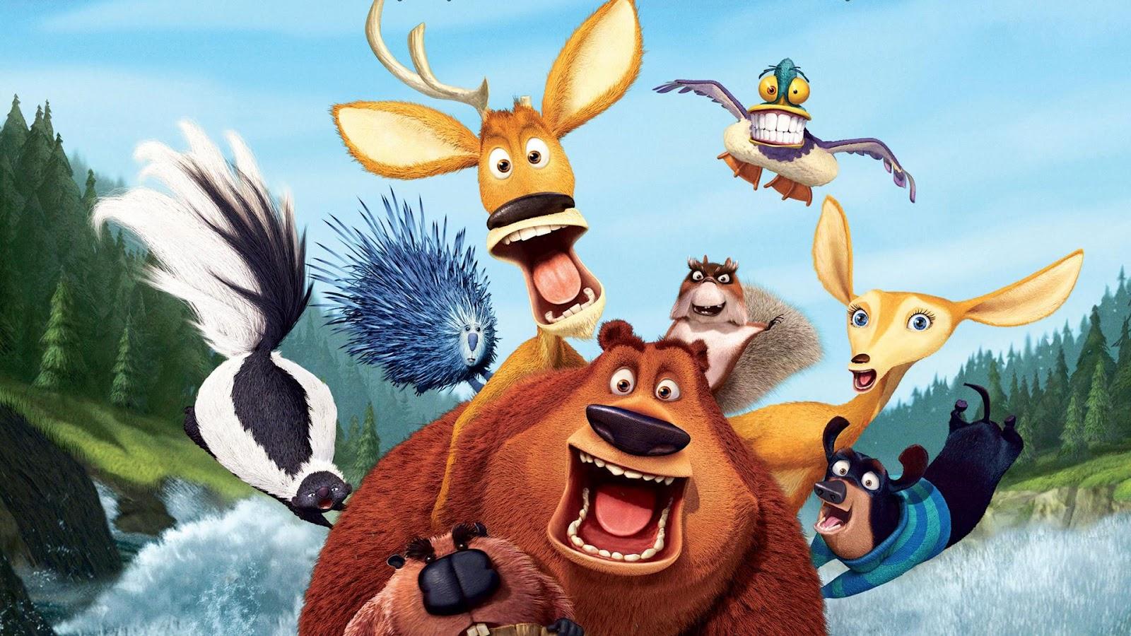 Animation Movie Geek: Open Season Wallpapers 2