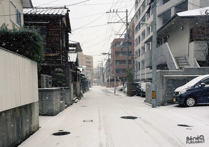 snowy Fukuoka