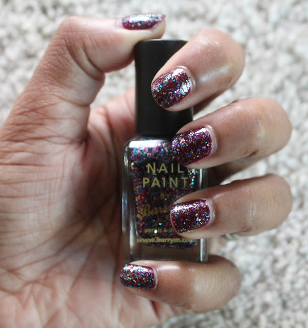 AMETHYST GLITTER BY BARRY M