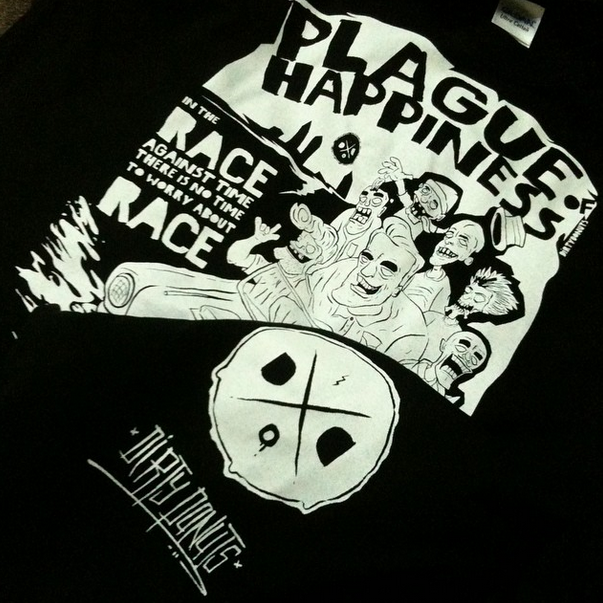 Plague Of Happiness t-shirt