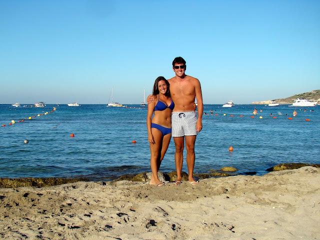 ghadira bay beach malta