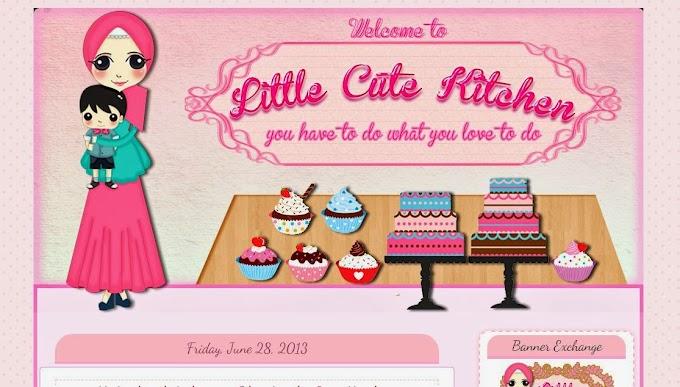 Tempahan Design Blog: Blog Little Cute Kitchen