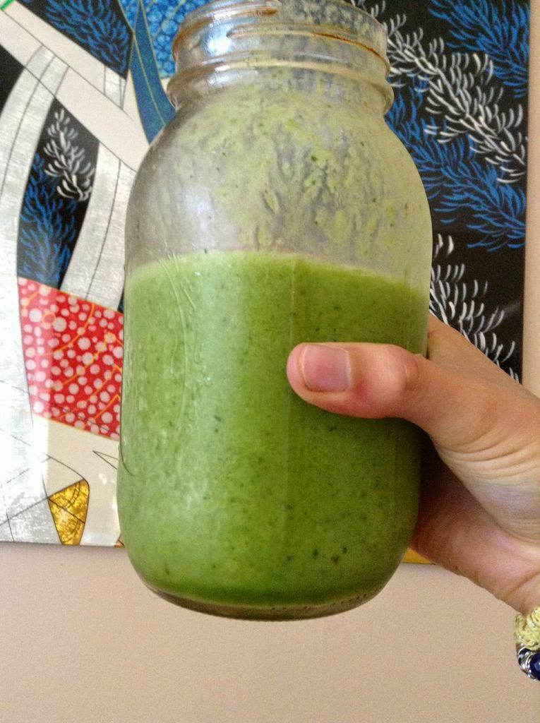 green monster smoorhie