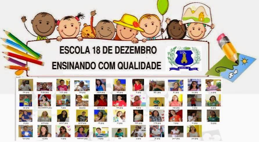 Escola 18 de Dezembro Altaneira - CE
