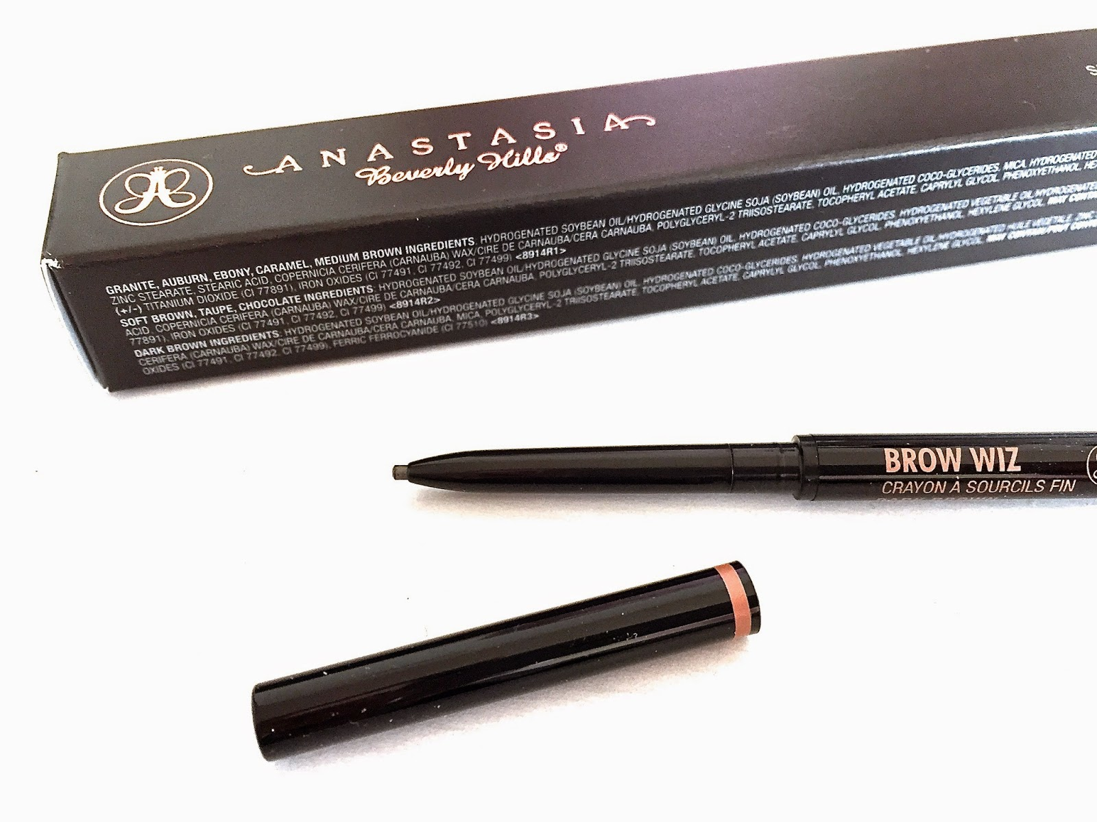 AN ODE TO   THE ANASTASIA BEVERLY HILLS BROW WIZ.   chloe annabelle