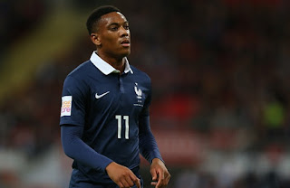 Manchester United star Anthony Martial is fit