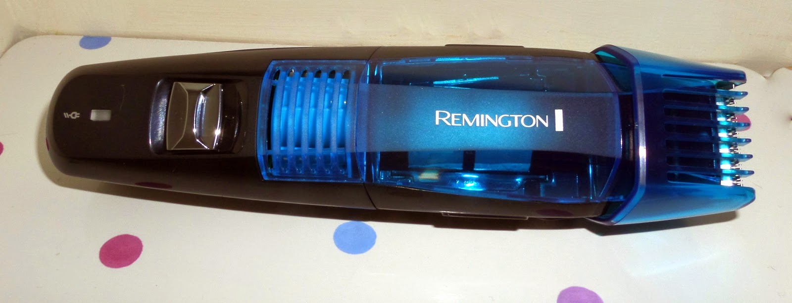review and giveaway remington vacuum beard and grooming kit for father 39 s. Black Bedroom Furniture Sets. Home Design Ideas