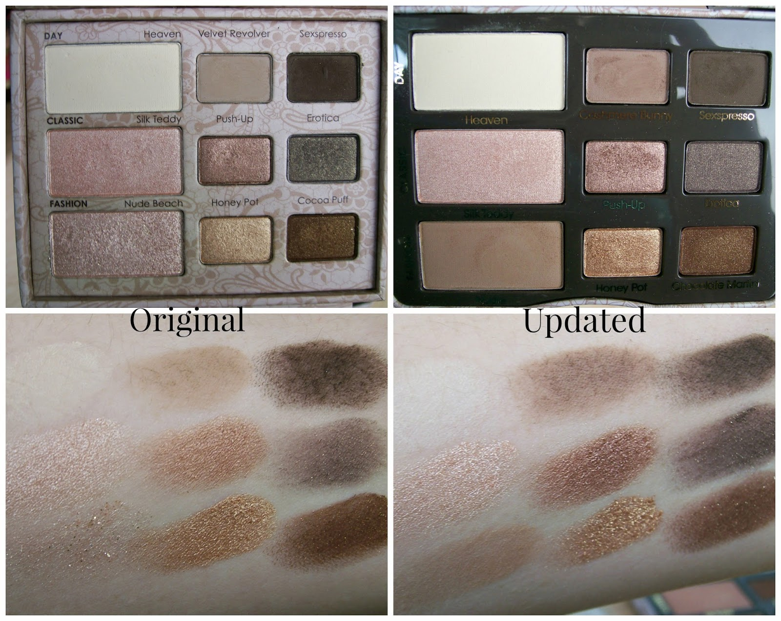 natural love eyeshadow two face