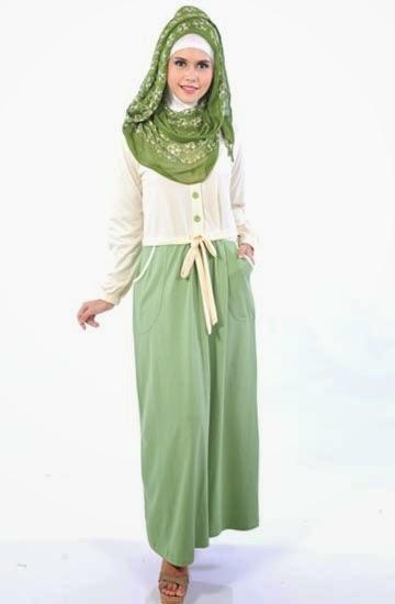 Trend Fashion Busana Muslim Remaja Gamis
