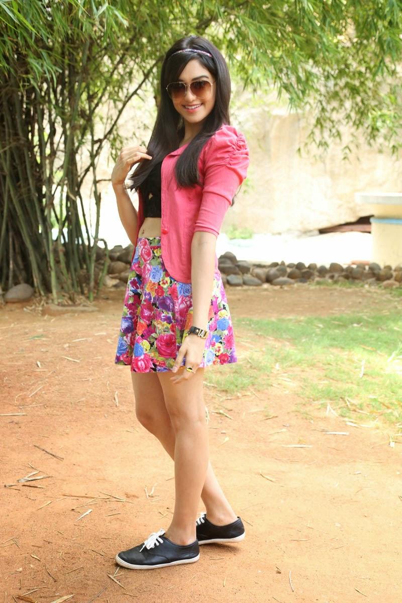 adah sharma beautiful photos in skirt at garam movie